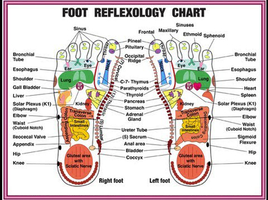 Foot Reflexology - Chinese Medicine Meridian Acupressure And ...